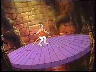 Dragon's Lair CD-Rom Moves